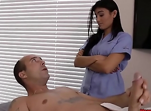 Piping hot Guys Cock Becomes Hard &amp_ Scam During Massage