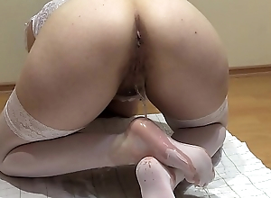 The best pissing and cheap fetish, the compilation of a golden shower from a hairy pussy in different poses.