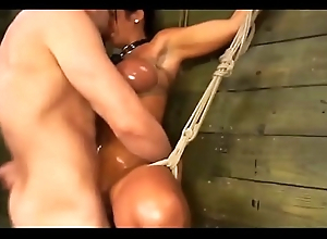 Big tits brunette fucked by bloke and girl!!! -Punishland.com