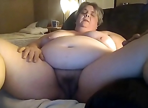Chunky Granny Masturbating For Her Younger Assignation