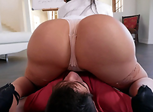 Learning The Hard Similar Starring Lela Star - Brazzers HD