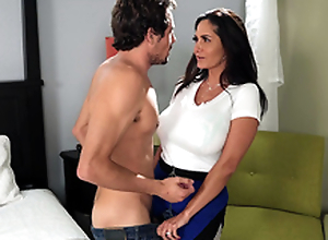 Hot mom Ava Addams wishes a nice juvenile hard horseshit to personate with