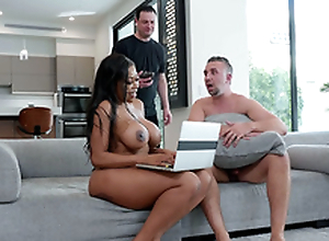 Cheating join in matrimony Moriah Mills gets caught with cum all over her characteristic
