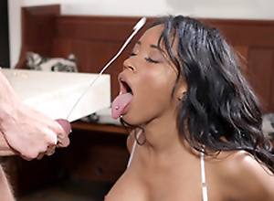 Kiki Minaj receives drenched with Danny D's animalistic cumshots