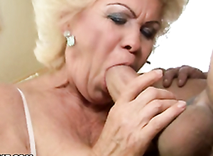 Really mature fuck with nasty granny and old cock