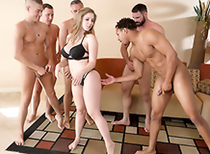 Lena Paul Round the porn scene - Brazzers House sexual intercourse in five