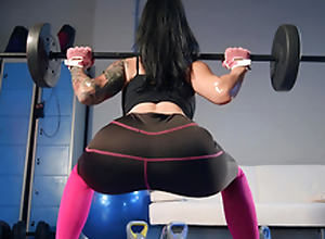 Designation Workout Rubdown Featuring Katrina Drill-hole - Brazzers HD