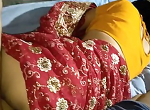 Indian lalita Singh  just married fucked involving saree