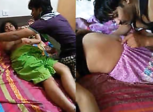 Desi Threesome Indian Randi Bhabhi Boobs thirsty for and relationship