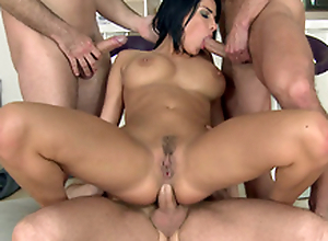 Guys do such XXX things for the first ripen with busty MILF Anissa Kate