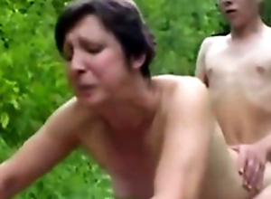 Forest XXX Sex Fuckers 1 - Materfamilias & Young Boy - Sex Scene