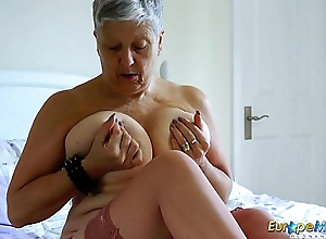 EuropeMaturE Huge Breasts Solo Work Footage