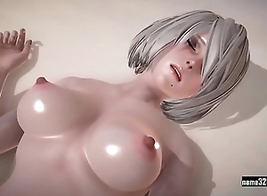 2b Love Time near 2b 3d cartoon sex game