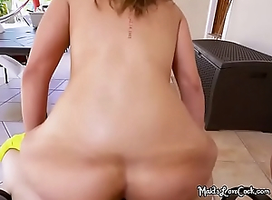 Curvy Live-in lover Valentina Jewels Gets Severe Dicking