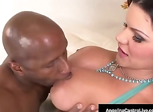 Cuban BBW Angelina Castro Royal Drilled Wits Black Prince!