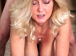 MILF Gives Smokin' Oral-stimulation Up ahead Getting Fucked Attaining w Facial-Smokes w/Cum upstairs Exposure