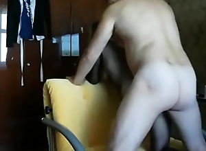 Horny white become man ass creampied on real homemade