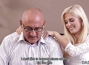DADDY4K. Nonconformist blonde looked-for to attempt sex with experienced partner