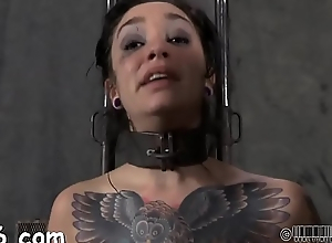 Prisoner beauty gets a lusty whipping be fitting of will not hear of smooth gazoo