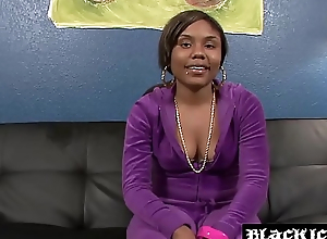 Ebony babe Lastar makes BBC stud cum everlasting after doggystyle