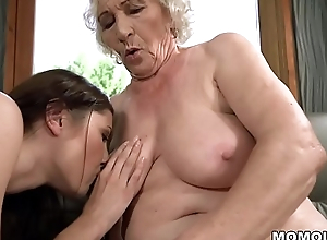 Old woman Norma and their way younger lesbian friend Linda Love