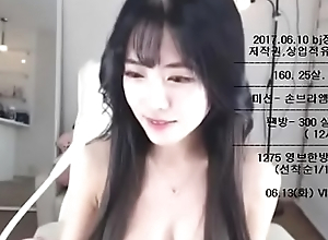 This Korean Camgirl Mien Like an Angel, join her show