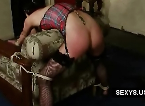 spanked aggravation