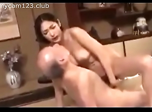 Horny Daugther in Law with father