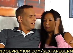 SEXTAPE GERMANY - A German untrained couple'_s sex tape includes intense cock sucking and riding